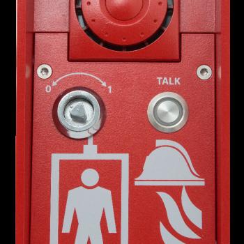 2N Lift8 Interkom Strażaka