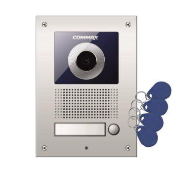 DRC-41UN/RFID KAMERA PODTYNKOWA Z REGULACJĄ OPTYKI I CZYTNIKIEM RFID 125kHz