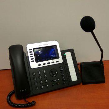 Moduł gęsiej szyjki do telefonów IP